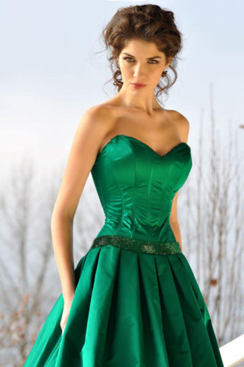 rochie-de-seara-smarald-fara-maneci