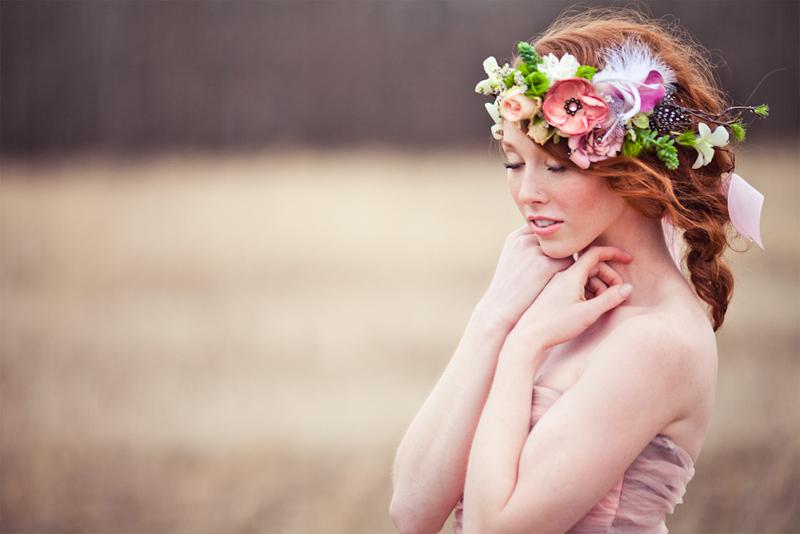 boho-floral-flower-crown-wedding