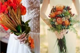 Buchete formidabile pentru nuntă, toamna