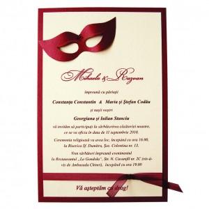 Invitatie-nunta-masti-venetiene