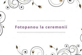 Evenimentul tău poate căpăta o nouă atmosferă cu compania Fotopanou !